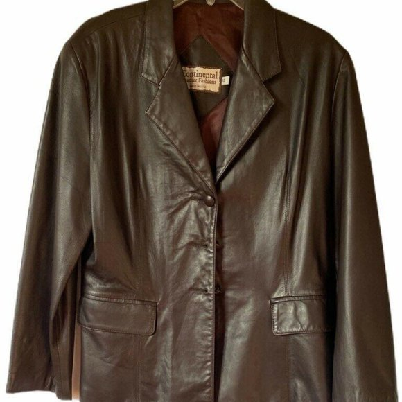Continental Leather Fashions Womens Jacket